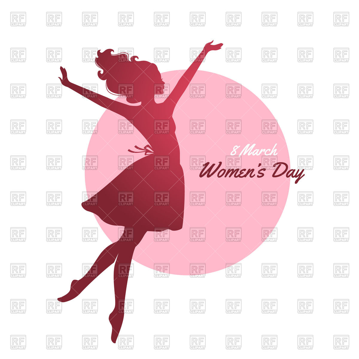 1200x1200 Women's Day Greeting Card