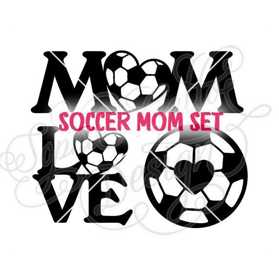 570x570 Soccer Mom Design Set Svg Dxf Amp Png Digital Download Files