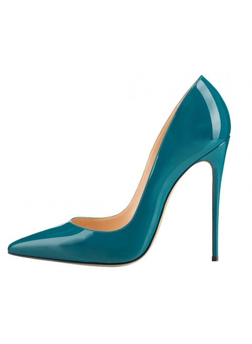 500x682 Stiletto Heel Plus Size Pumps Shoes Pointed Toe Pump For Wedding