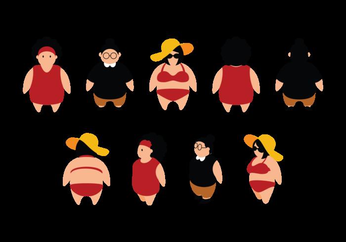700x490 Plus Size Girls Cartoon
