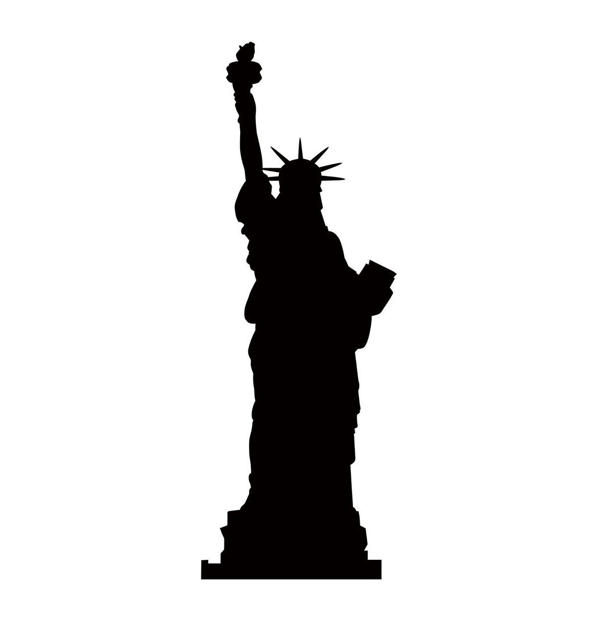 1199x1280 Statue Of Liberty Silhouette
