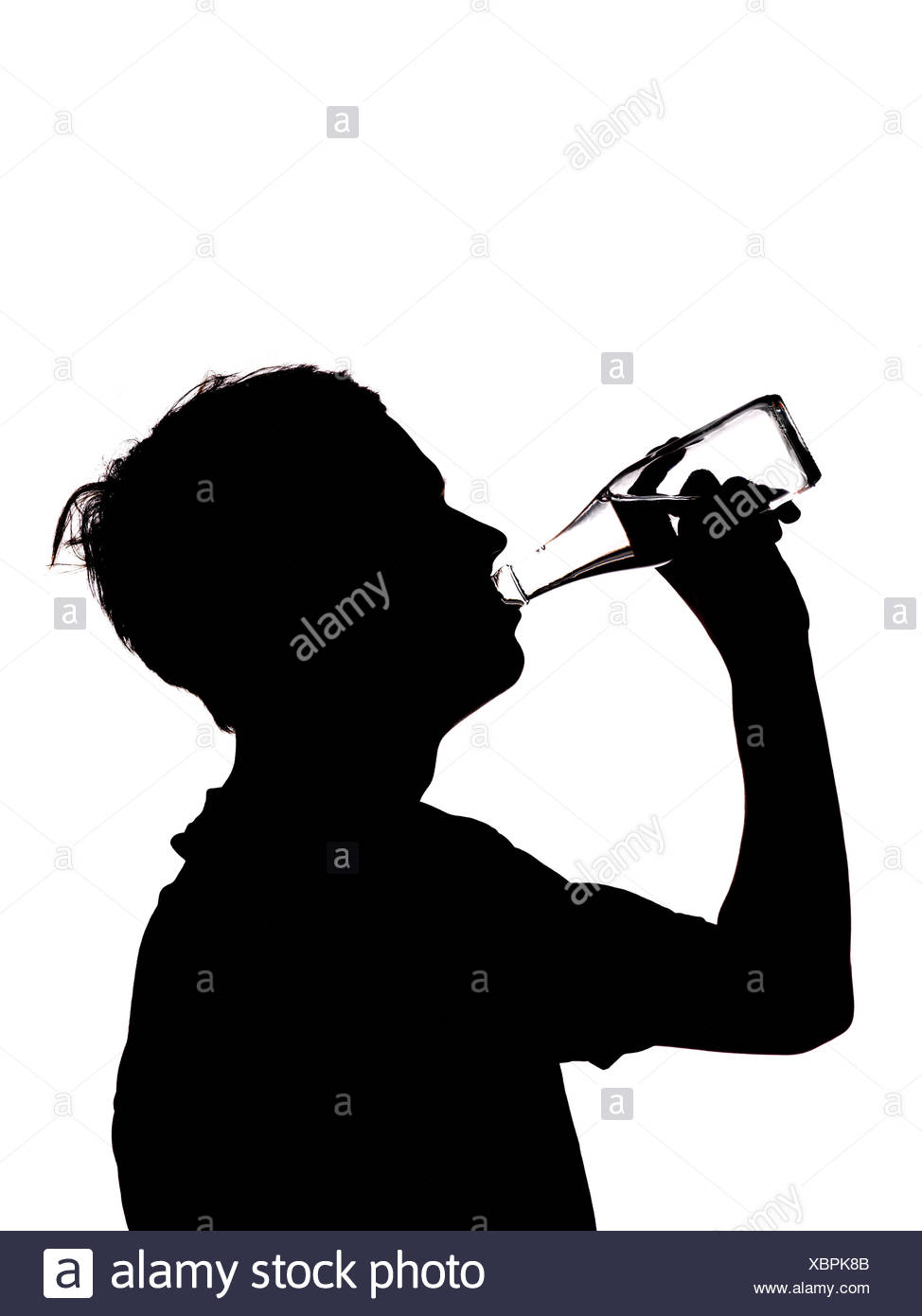 974x1390 Boy Drinking Silhouette Black And White Stock Photos Amp Images
