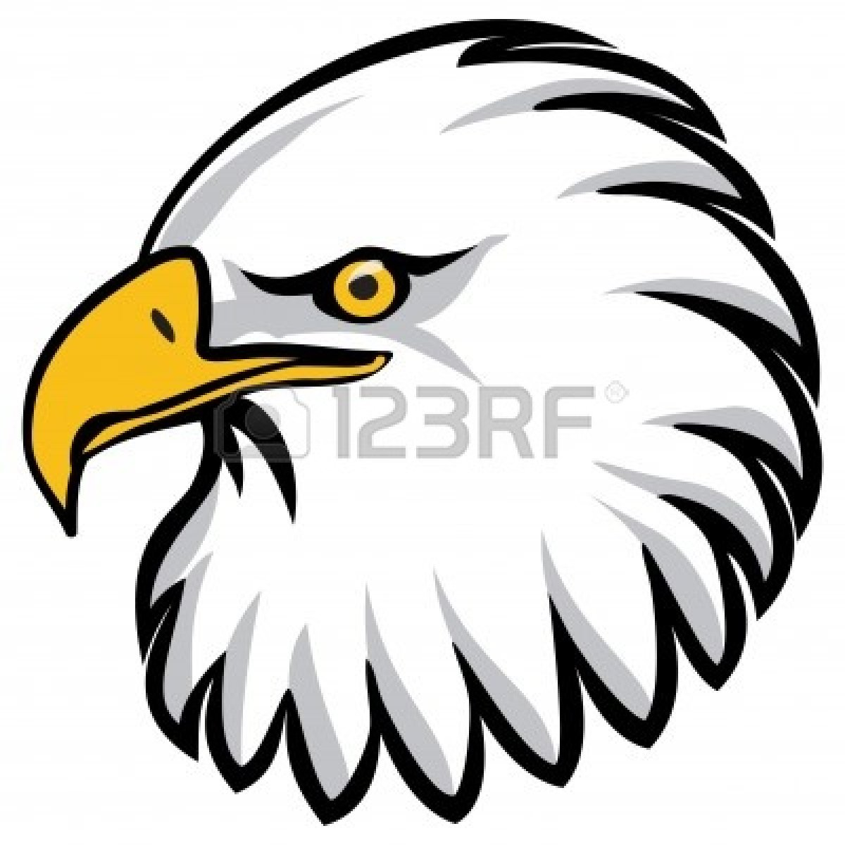 silhouette eagle head at getdrawings com free for personal use rh getdrawings com clip art eagles cartoon football players clip art eagles soaring