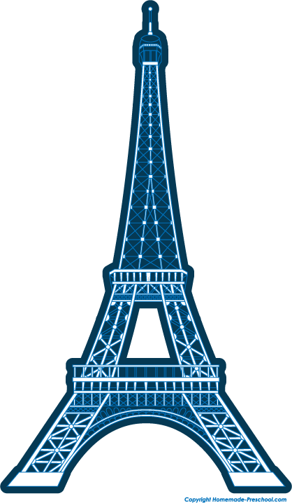 418x718 Eiffel Tower Silhouette Clipart Free Stock Photo Public Domain