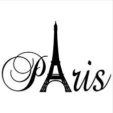 225x225 Eiffel Tower Silhouette Clipart Free Stock Photo
