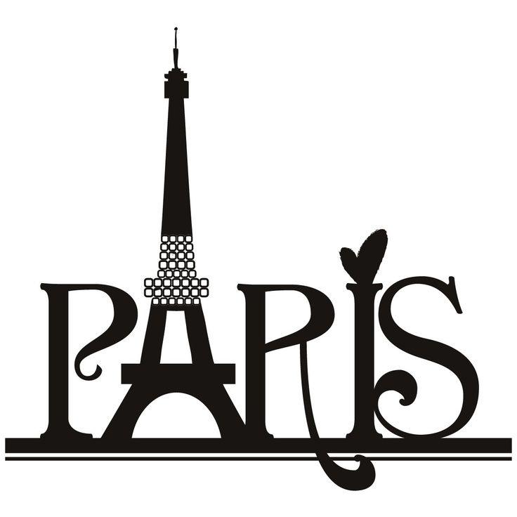 736x736 Paris Eiffel Tower Wall Art Sticker Need To Adjust The Clip Art