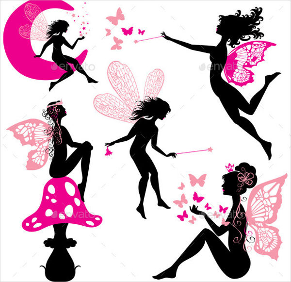 Silhouette Fairies