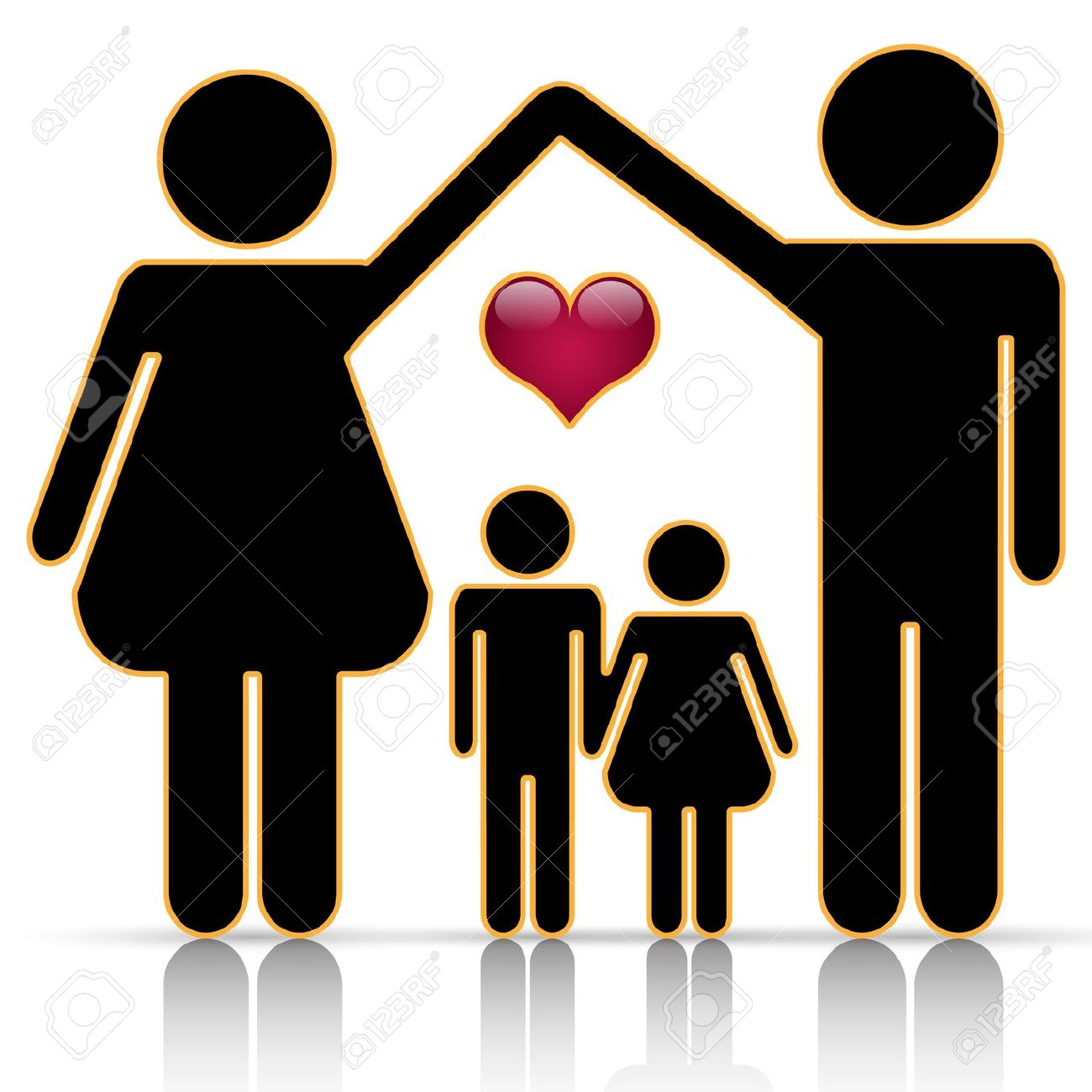 silhouette family clipart at getdrawings com free for personal use rh getdrawings com free clipart of family trees free clipart of family members