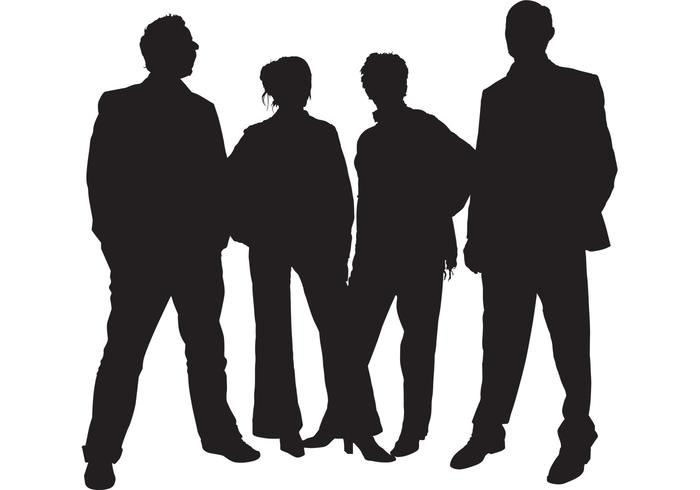 700x490 Silhouettes Of People