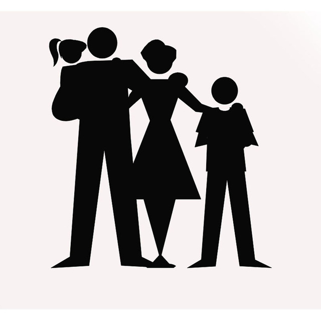 640x640 Wholesale 20 Pcslot Happy Silhouette Family Car Sticker For Truck