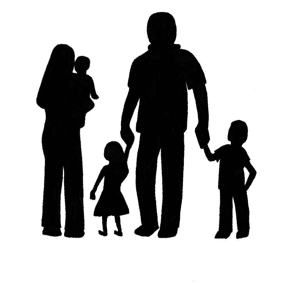 1056x987 Joyus Designs Family Silhouette