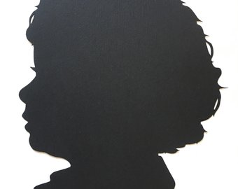 340x270 Two Cut Paper Silhouette Portraits From Your Photographs