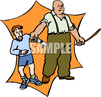 350x338 Clipart Of Child And Man Together