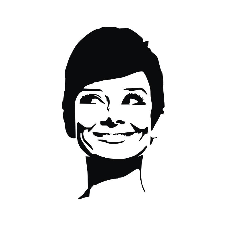 787x787 Paris Stencils Vinyl Art Sa Products Famous Faces Audrey Hepburn