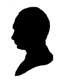 273x350 Silhouette Of Person. Famous People Silhouettes