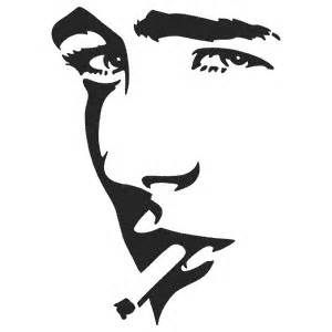 300x300 Silhouettes Of Famous Faces