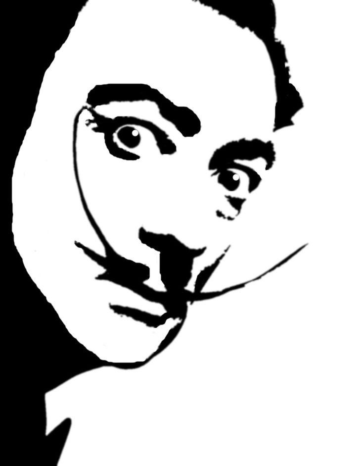 736x941 Stencil Face