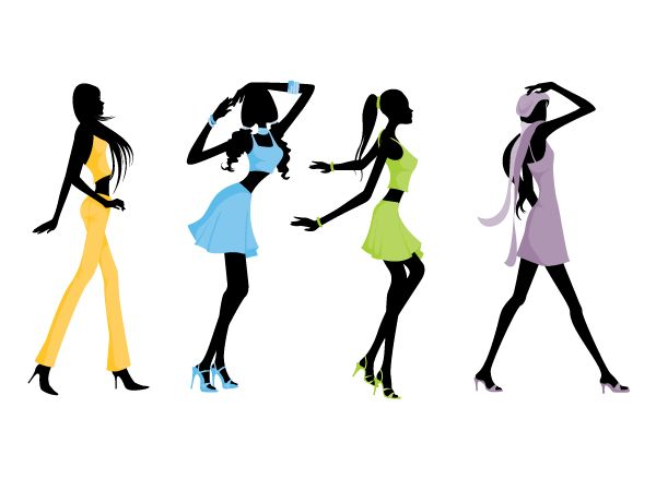 Silhouette Fashion At Getdrawings Com Free For Personal Use