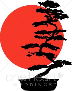 310x388 Bonsai Tree Clipart Summer Wedding Clipart