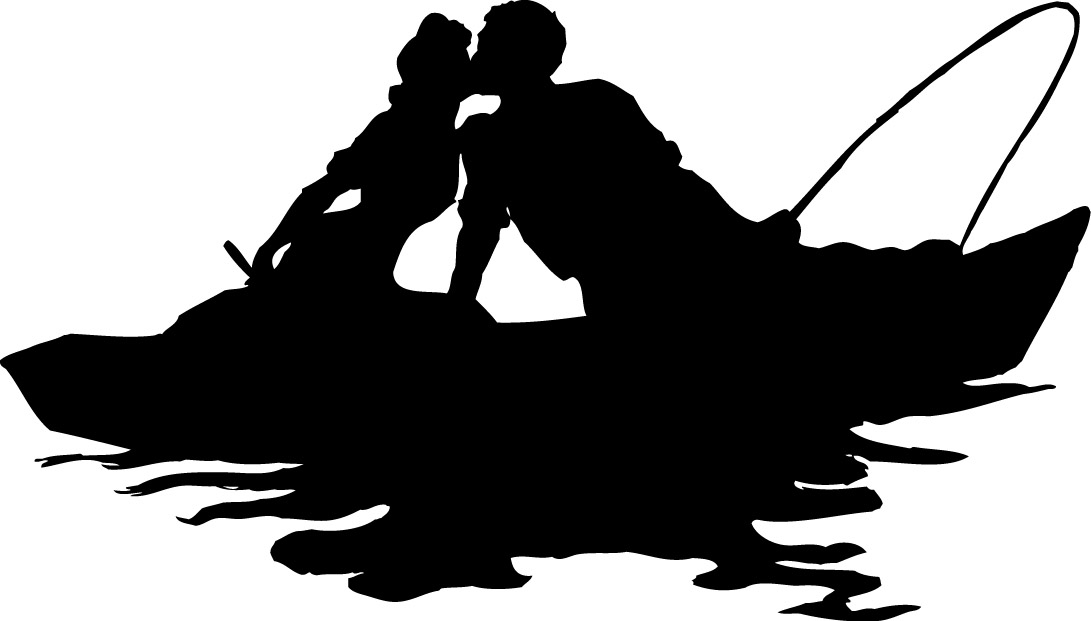 1091x621 Fishing Boat Clipart Silhouette 3533390