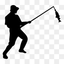 260x260 Fishing Fisherman Silhouette Clip Art