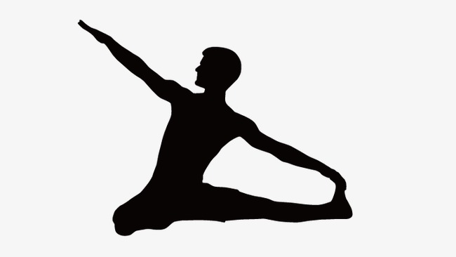 650x366 Fitness Silhouette Figures, Fitness People, Silhouette Figures Png