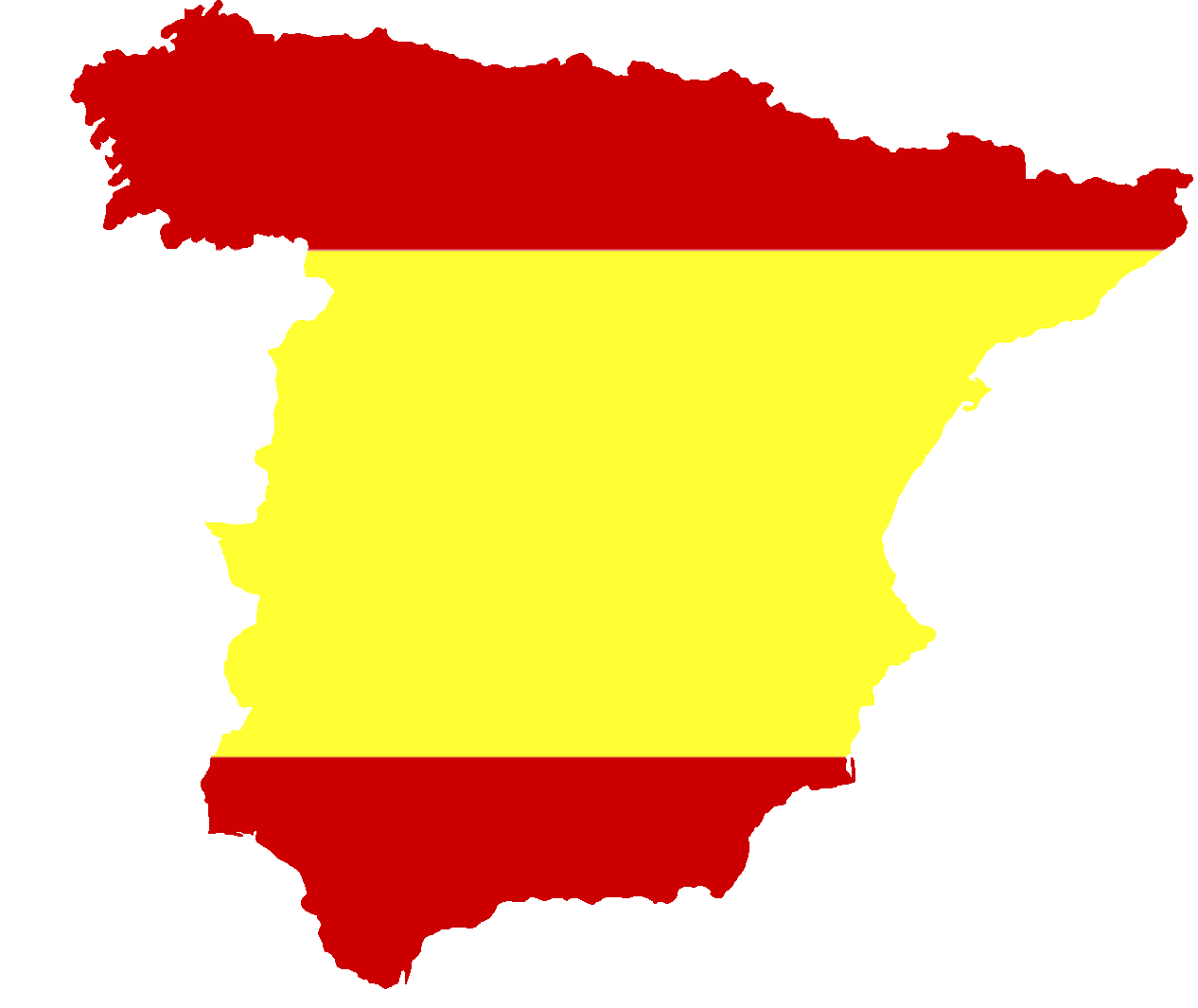 1266x1065 Filesilhouette Spain With Flag.png