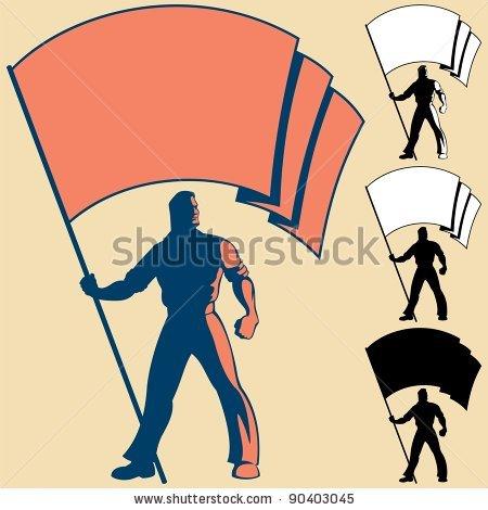 450x470 Flag Clipart Man 3536210