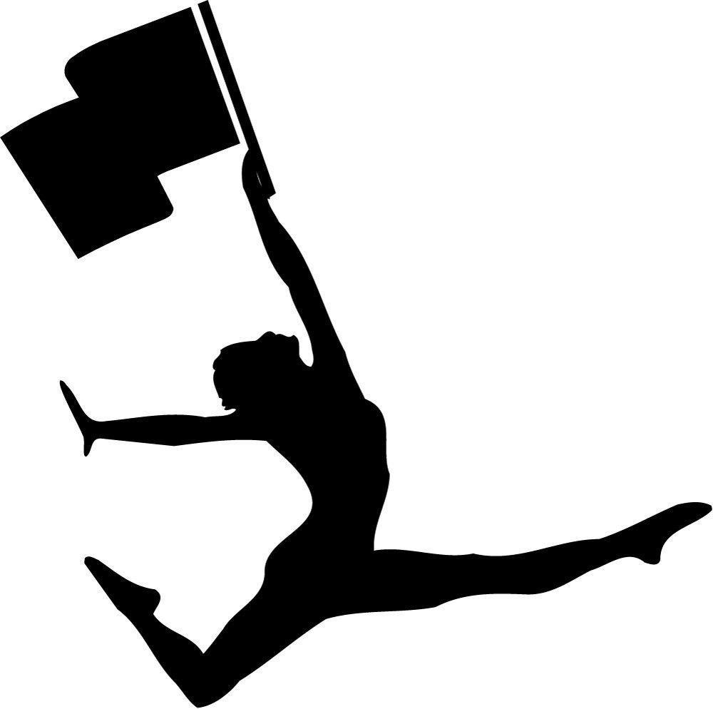 1000x994 Flag Silhouette Clipart