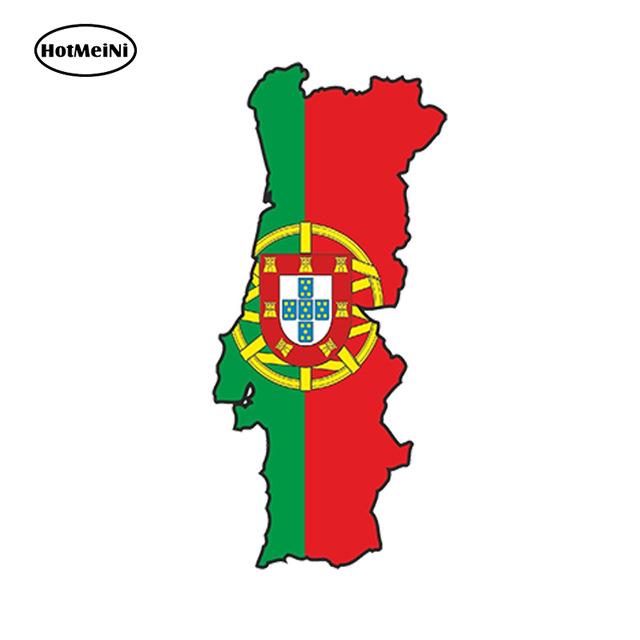 640x640 Hotmeini Car Styling Car Sticker Portugal Portuguese Sticker Map