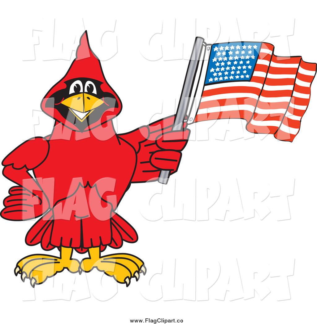1024x1044 American Flag Silhouette Clipart