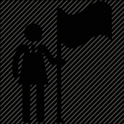 512x512 Business Woman, Businessman, Businessman Silhouette, Woman