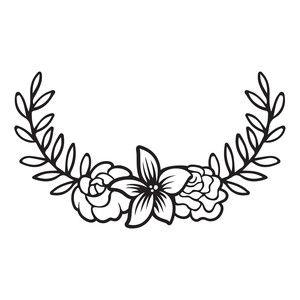 300x300 Silhouette Design Store Floral Laurel Sophie Gallo Design