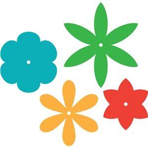 300x300 108 Best Silhouette Trace Flowersflourishestrees Images
