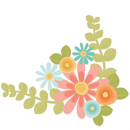 432x432 Flowers Svg Scrapbook Cut File Cute Clipart Files For Silhouette