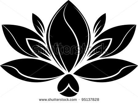 450x336 Magnolia Silhouette Clipart