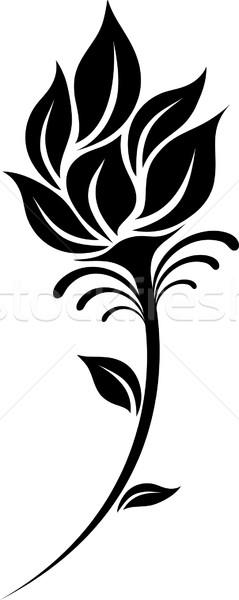 239x600 Flower Silhouette Vector Illustration Ahmed Nassar (Silverrose1
