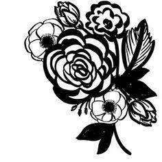 236x236 Flower Decal Flower, Cricut And Initials