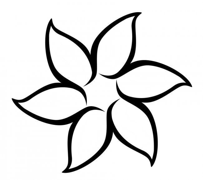 650x578 Flower Templates