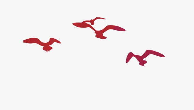 650x367 Flying Bird Silhouette, Bird, Red, Flying Birds Png And Psd File