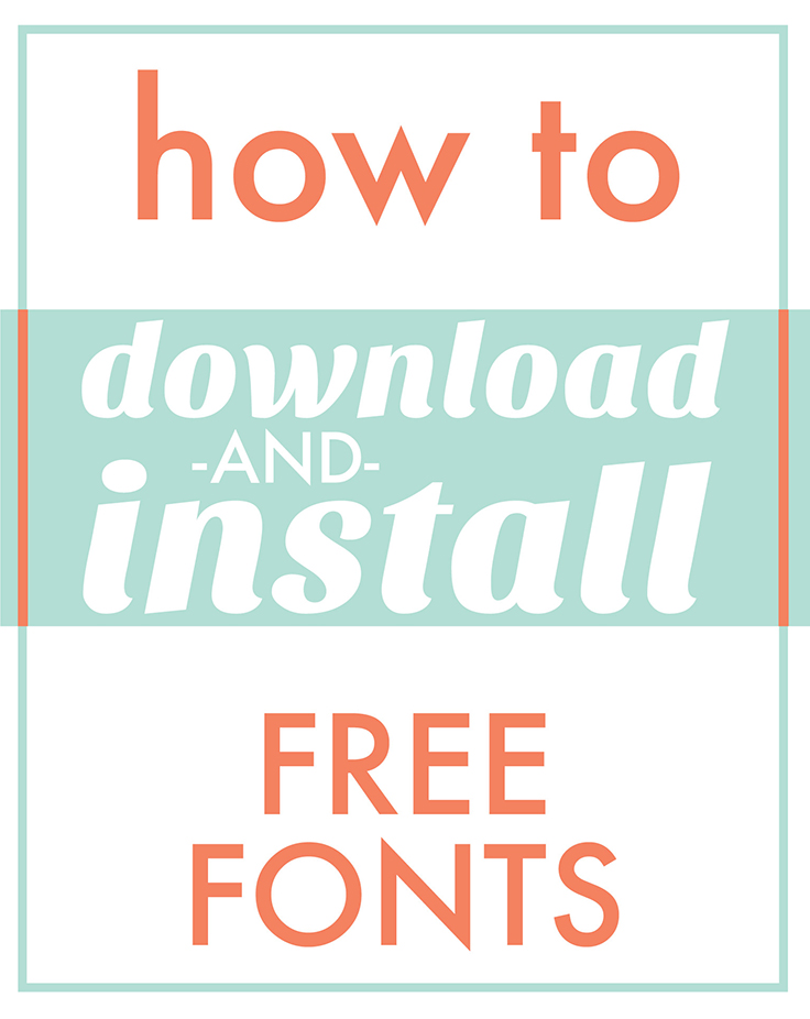 736x926 Download Fonts For Cricut And Silhouette Craftables