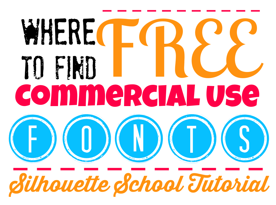 1117x829 How To Find Free Commercial Fonts Silhouette Tutorial