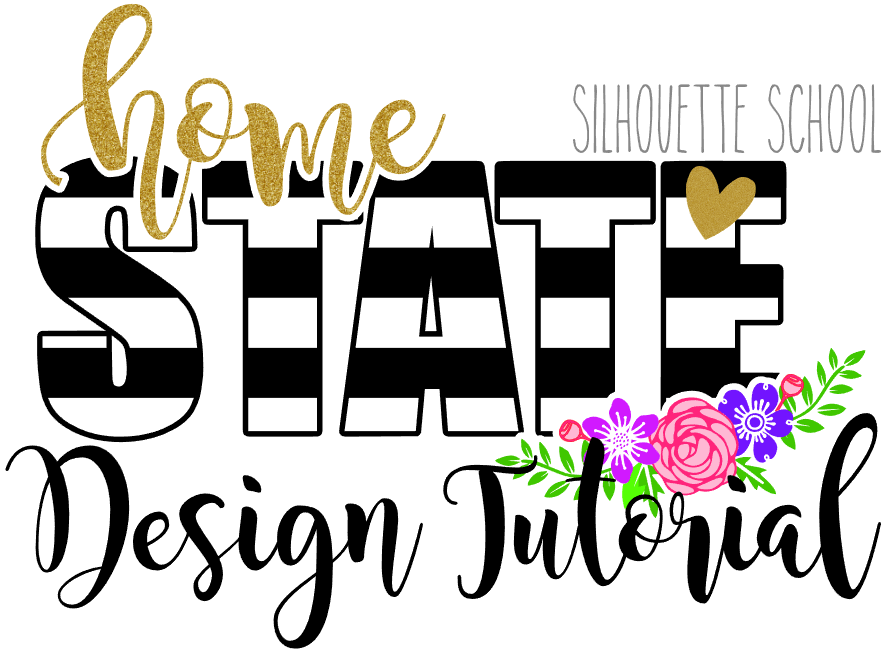 891x656 Striped State Design Tutorial With Free Cut File For All States