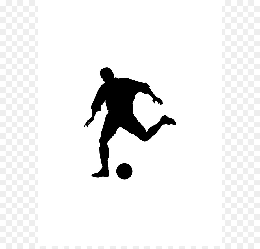 Silhouette Football Player