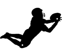 213x195 Diving Clipart Football Player