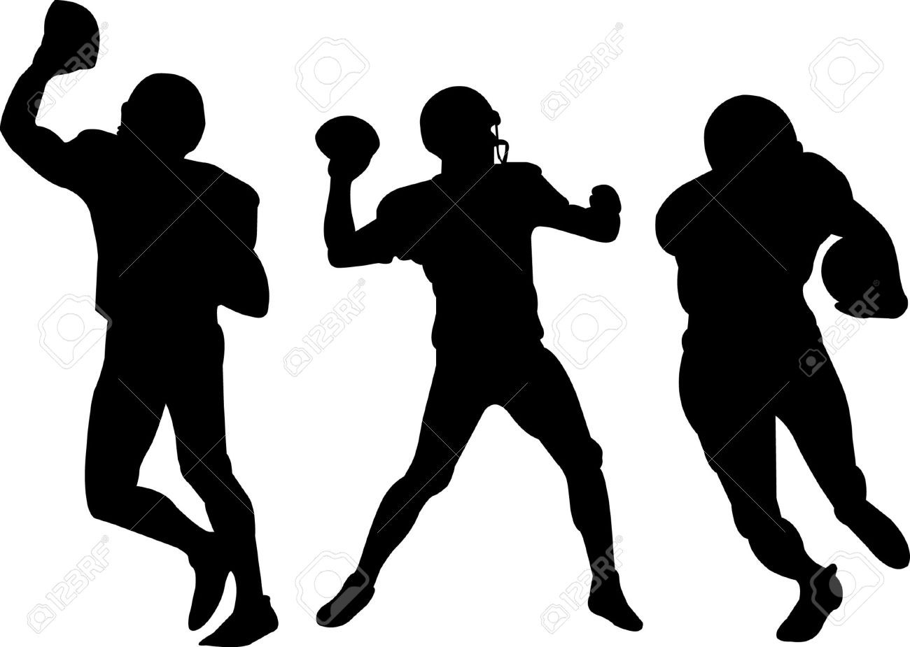 1300x925 American Football Player Silhouette Vector Free Fiscalreform