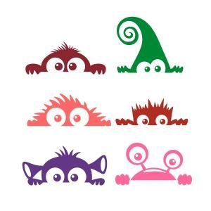 300x300 Daily Freebie) Monster Decal
