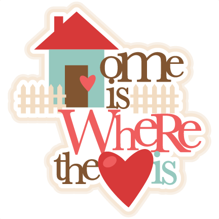 432x432 Home Is Where The Heart Is Svg Cutting Files For Cricut Silhouette