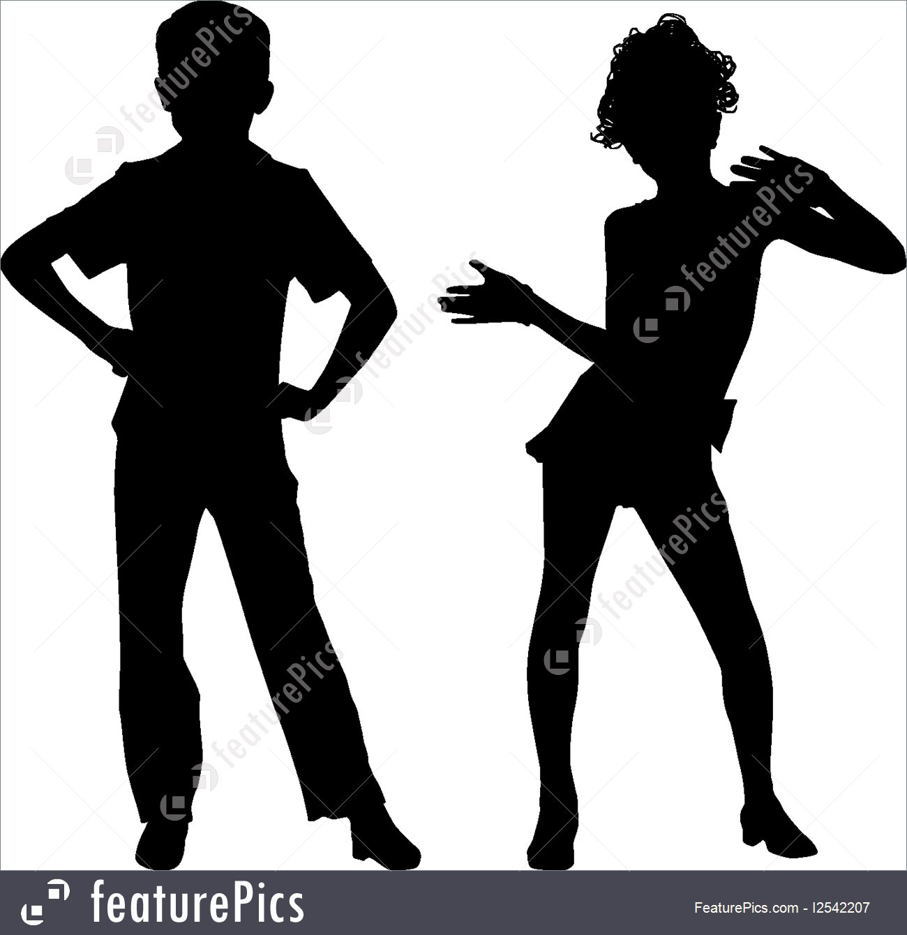 1300x1341 Illustration Of Silhouette Small Friends