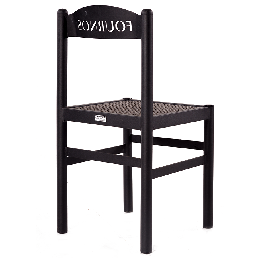 900x900 Pizza Dining Chair Silhouette Furniture
